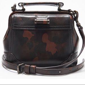 Frye Leather Frame Satchel